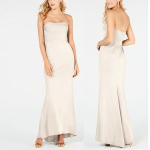 Adrianna Papell Lola Strapless Gown